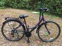 Female Bicycle 2 months used