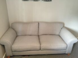 DFS Angelic 3 Seater Sofa (excellent condition)