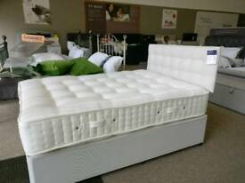 Double bed base and headboard
