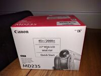 Canon MD235 casette video recorder