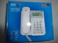 BT Decor 2200 Home Phone - brand new & boxed