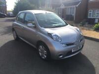 2008 Nissan Micra 1.4 5 Door Silver Bluetooth Long MOT and Warranty Available