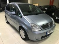 Vauxhall meriva 1.4 12 months mot 2005 very econimocal no faults good condition all round