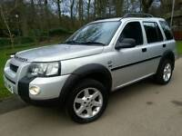 LAND ROVER FREELANDER 2.0TD4 HSE 2005 55'REG*TOP SPEC*NAVI*LEATHERS*H/SEATS*EXC COND#4×4#SUV#JEEP