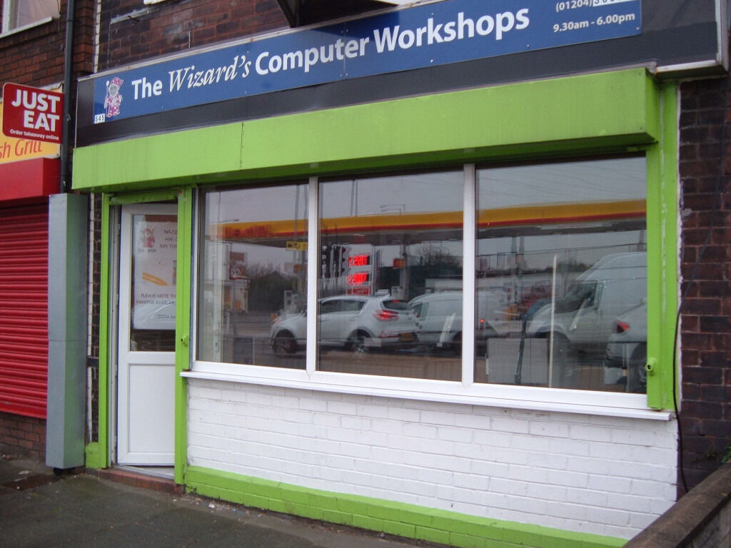 Computer Repair and Sales Businessin Bolton, ManchesterGumtree - Contents of computer shop Computers, Laptops and Chargers, Monitors, Mouse/Keyboards, Routers, Cables, Power Supplies (2nd User), Vintage Games Consoles, Turntable, PC Parts and Accessories. Also for sale Computer Repair Business including Furniture,...