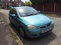 2004 54 corsa design 1.2 3 door low low mileage service history new mot free delivery