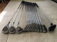 Full Set Daiwa Unipower Woods/Irons plus Dunlop Putter