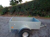 Car trailer bronnis 5 x3