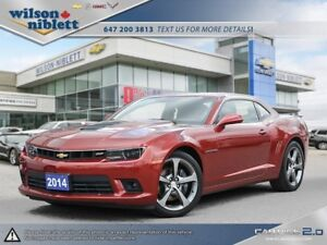 2014 Chevrolet Camaro 1SS ACCIDENT FREE, CLEAN CARPROOF