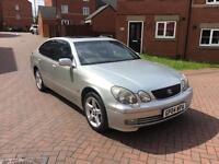 2004 04 LEXUS GS430 4.3 V8 SE AUTO SAT NAV SILVER FULLY LOADED NOT GS300 GS450