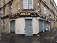 SHOP TO LET ON ALLISON STREET, GOVANHILL, SOUTH SIDE GLASGOW, G42