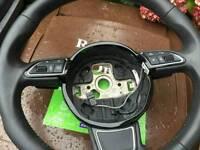 Audi a3 8v multifunctional steering wheel