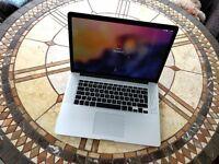 """Apple MacBook Pro Retina A1398 15.4"""" Mid 2014 2.2Ghz 16GB RAM 512Gb SSD"""