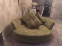 2 x Green sofa in excellent condition