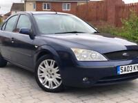 2003 Ford mondeo 2.5 v6 24v petrol tow bar