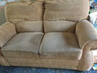 2 seater sofa and chairs