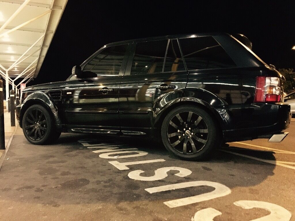 range rover sport 4 2 v8 supercharged overfinch replica full service history in wrexham gumtree. Black Bedroom Furniture Sets. Home Design Ideas