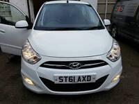 Hyundai i10 2011 (61) 1.2 Petrol 5 Door Full year MOT