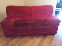 3 seater sofa and chair FREE if collected this week