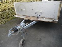 Caravan chassis ideal trailer project