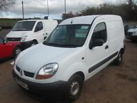 RENAULT KANGOO 2006 1.5 LTR DCI 1 YEAR MOT LOW MILES ONLY 88000 ON CLOCK!!!