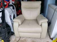 Land of Leather reclining electric chair.in