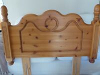 Solid Pine Single Headboard