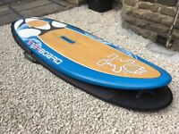 Starboard Carve 145 litre windsurf board plus board bag, fin and footstraps (Dakine and Starboard)