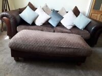 Barker and Stonehouse TETRAD Sofas 1x 3 Seater & 1x 4 Seater. Can be sold separately.