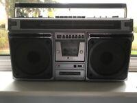 3x 70s/80s Ghetto Blasters/Radio Cassettes (Sharp, Philips, Triumph)