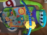 Fisher price play gym hardly used