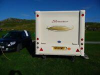 touring caravan bailey senator vermont