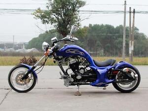 250CC VILLAIN MINI MOTORCYCLE CHOPPER BIKE BRAND NEW! 4-STROKE, MANUAL CLUTCH