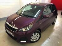 🌟🌟 Peugeot 108 Active. Handsfree. Only 617 Genuine Miles. Zero Tax. Px & FINANCE. 🌟🌟