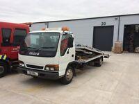 Isuzu nqr twindeck recovery truck