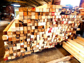 RECLAIMED TIMBER 4x4 POSTS 2.7 - 3.0 METERS LONG,DRY BARN STORED,STRAIGHT & TRUE LOTS IN STOCK, VGC