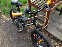 Apollo street fighter boys bike