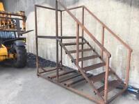 Metal Staircase Mezzanine