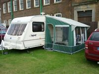 2000 BAILEY PAGEANT MAGENTA TWO BERTH CARAVAN
