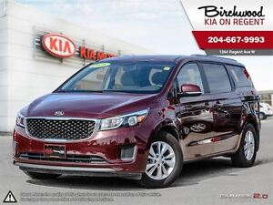 2016 Kia Sedona LX 3.3L V6\Dual Sliding Doors\Alloy Wheels