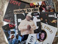 Rap hip-hop vinyl collection bundle lps some rare notorious b.i.g, big L and more