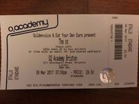 1 x The XX Standing Ticket - Brixton Academy - Wednesday 8th March - SOLD OUT