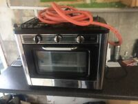 (gas stove brand new never been used) (comes with instructions and gas pipe)