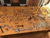 Tools collection inc socket sets and spanners