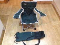 2 children's high gear camping chairs.