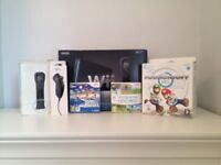 Nintendo Wii, Sports Resort, Wii Sports, Mario Kart, Additional Motion Plus and Nunchuck
