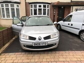 Renault Megane, Excellent Condition, Regularly Serviced, Low Millage.