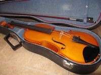 BEAUTIFUL ANDREA ZELLER 4/4 VIOLIN IN EXCELLENT USED CONDITION
