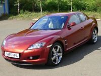MAZDA RX8 sold as spear and repair