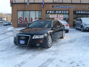 2011 Audi A6 3.0 Progressive/NAVIGATION/BACK UP CAMERA